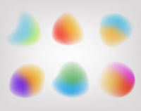 Blurred Ball With Grey Background