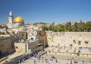 the western wall in jerusalem israel