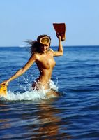 girl an water
