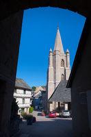 Commune Donzenac in French Correze