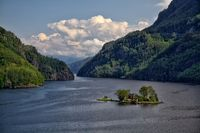 A cabin in Lovrafjord
