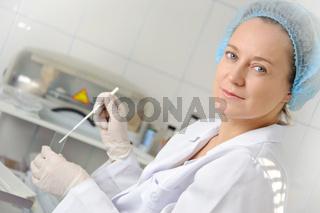 Portrait female doctor.