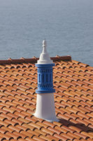Roof with a chimney in Albufeira