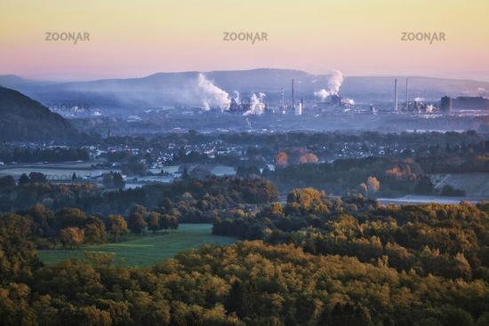 ironworks Dillingen, Saarland, Germany