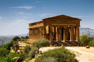 Ancient Greek Temple of Concordia