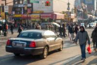 NYC Street Blur