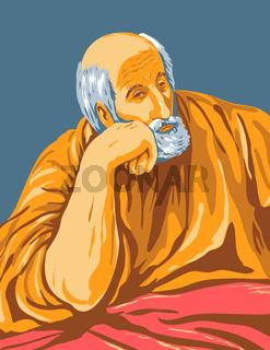 Artwork of El Greco Domenikos Theotokopoulos Entitled Saint Joseph Circa 1600 WPA Poster Art