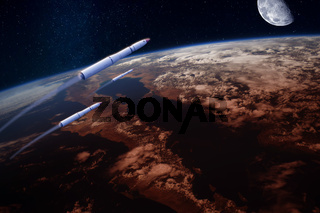 Hypersonic Missiles over the Earth
