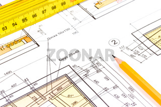 House construction plan