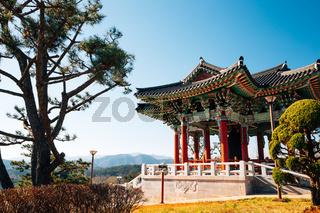 Samsa Marine Park in Yeongdeok, Korea