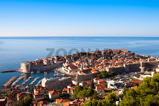 Harbor, Dubrovnik, Croatia