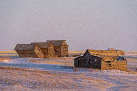 Prairie Winter Scene