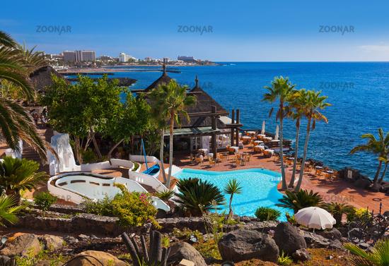 Pool at Tenerife island - Canary