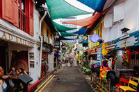 Haji Lane and Arab District in Singapore