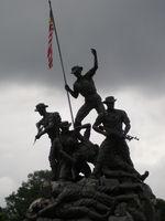 warrior monument