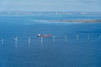 Middelgrunden Offshore Wind Power Park in Copenhagen