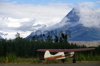 Flugplatz in Mc Carthy