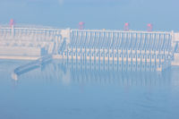 three gorges dam closeup