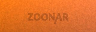 Abstrakter orangener Low Poly Hintergrund als Textur