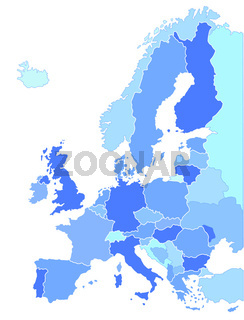 Europa Länderkarte.eps