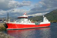 The cargo ship Viktoria Viking