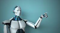 Humanoid Robot Click