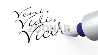 Stift Konzept - Veni Vidi Vici!