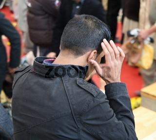 Muslimische Beter in Deutschland