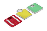 Weighing scales with different designs