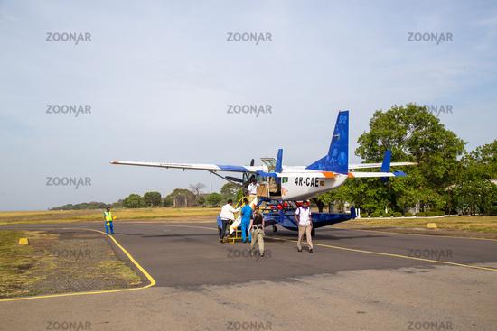 China Bay Airport in Trincomalee, Sri Lanka
