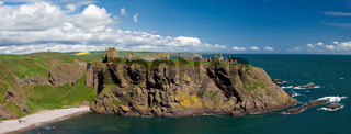 Panorama of Dunnotar Castle