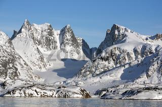 Unberührte Wildnis an der grönländischen Westküste