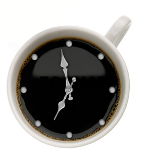 Coffee Time. Abstract food backgrounds