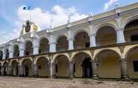 'Palacio de los Capitanes Generales' - Palace of the Captains General, Antigua Guatemala