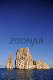 Kicker Rock nahe der Insel San Cristobal, Galapagos, Unesco Welt