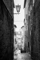 Street in the Old town of Siena