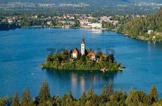 Lake Bled Island