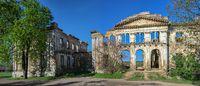 Dubiecki manor in Vasylievka, Odessa region, Ukraine