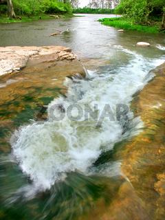 Prairie Creek Falls Illinois