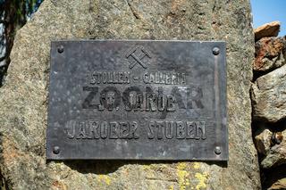 Gedenkstein für den Museumsbergstollen 'Jakober Stuben', Prettau, Ahrntal, Südtirol