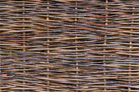 Wicker fence - abstract background