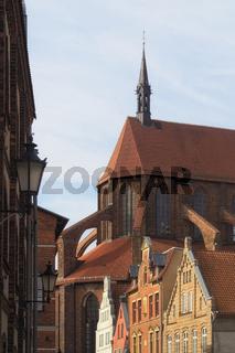 Wismar - St. Nikolai-Kirche, Deutschland