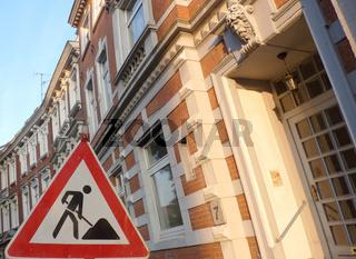 Bauarbeiten in der Altstadt