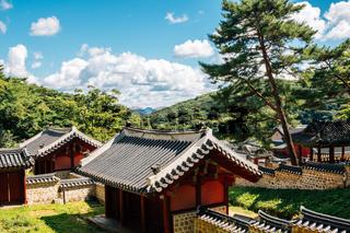Namhansanseong Haenggung, Korean traditional architecture in Gwangju, Korea