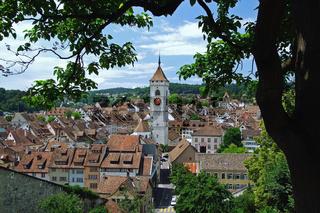 Stadtansicht von Schaffhausen