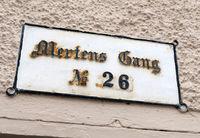 Lübeck, Mertens Gang, earlier Ghetto, Hansestadt, Schleswig-Holstein, Germany