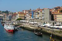 Porto Zona Ribeira - Portugal