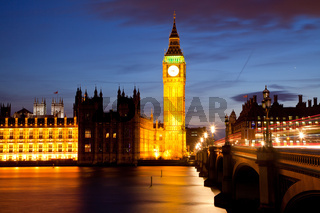 Big Ben River Thames London