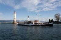 paddle steamer Hohentwiel in Lindau