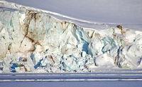 Holmiabukta Glacier, Arctic, Svalbard, Norway